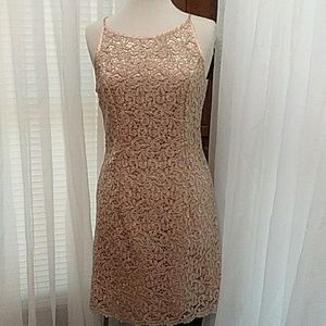 1950-1960s Lace Party Dress Absolutely Stunning